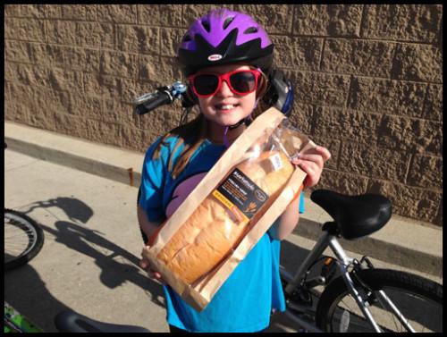 Biking to Get Bread