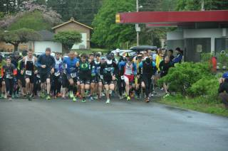 2014 Rainier Duathlon Race Start