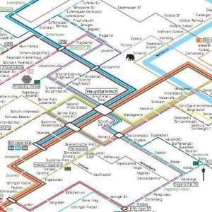 Stuttgart metro map 8