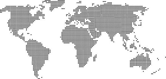 mapa mundi decorativo