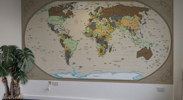 Mapa mundi national geographic brasil - Papel pared mapa mundi ...