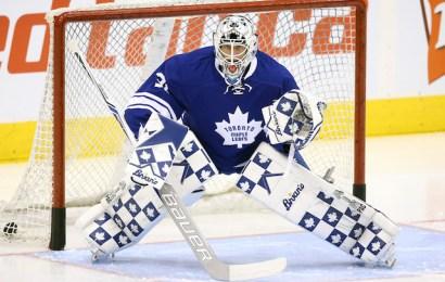 Maple Leafs hledají brankářskou dvojku