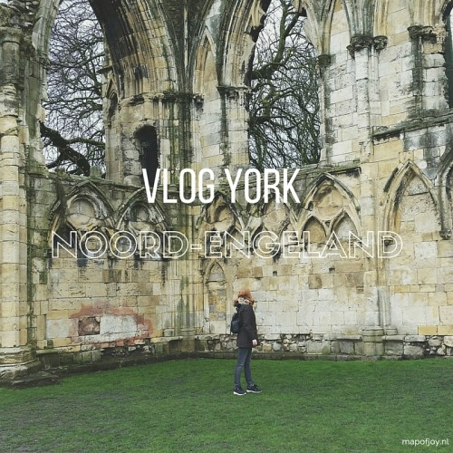Vlog York, England - Map of Joy