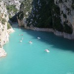 Gorge du Verdon, France, travel report - Map of Joy
