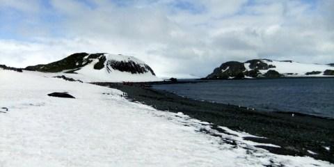 Arrival in Barrientos: Antarctica