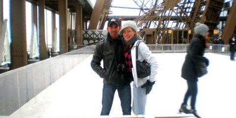 The Time We Ice Skated On The Eiffel Tower