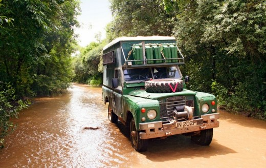 The Land Rover Matilda