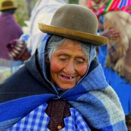 Bolivian woman