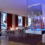 Lounge bar of Hotel de las Letras Madrid