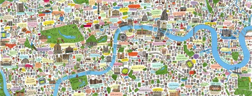 illustrated-map-london