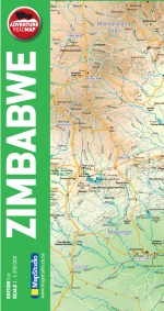 Zimbabwe Adventure Road Map - ePDF