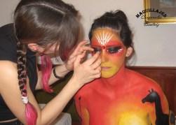 Body paint Carnavales de Águilas 2010