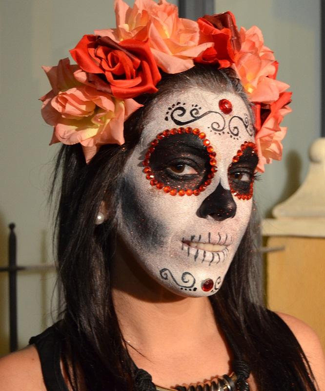 Maquillaje Halloween muerte mexicana Murcia