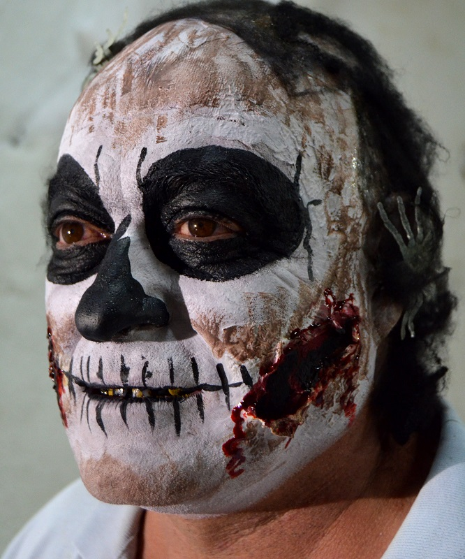 Maquillaje Halloween calavera Murcia