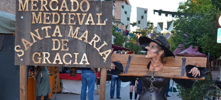 Mercado Medieval en Santa María de Gracia, Murcia