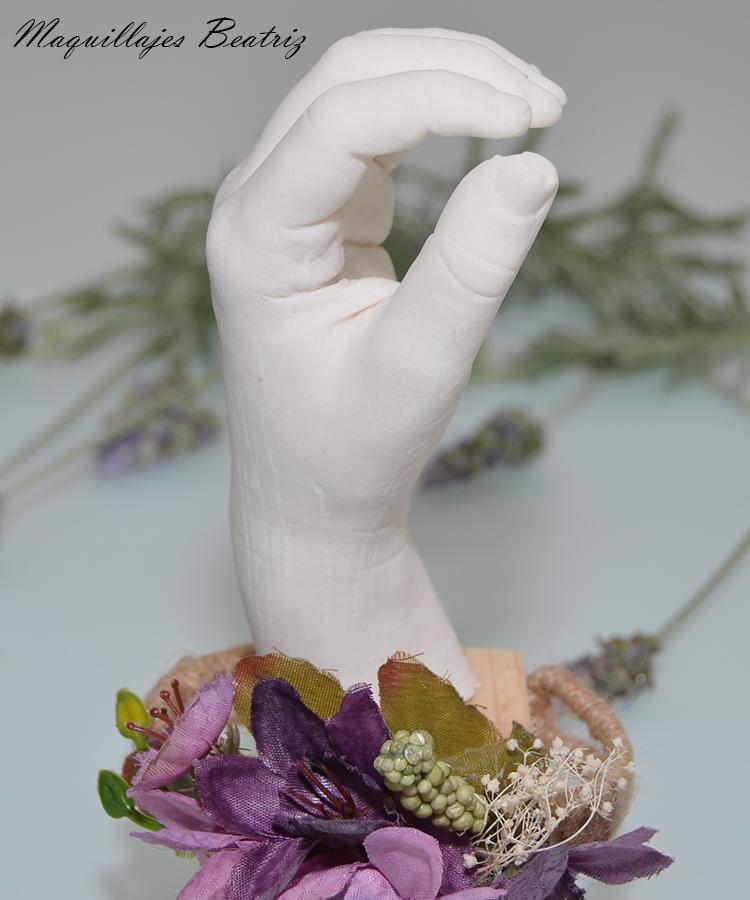 molde manos lifecasting escultura niño