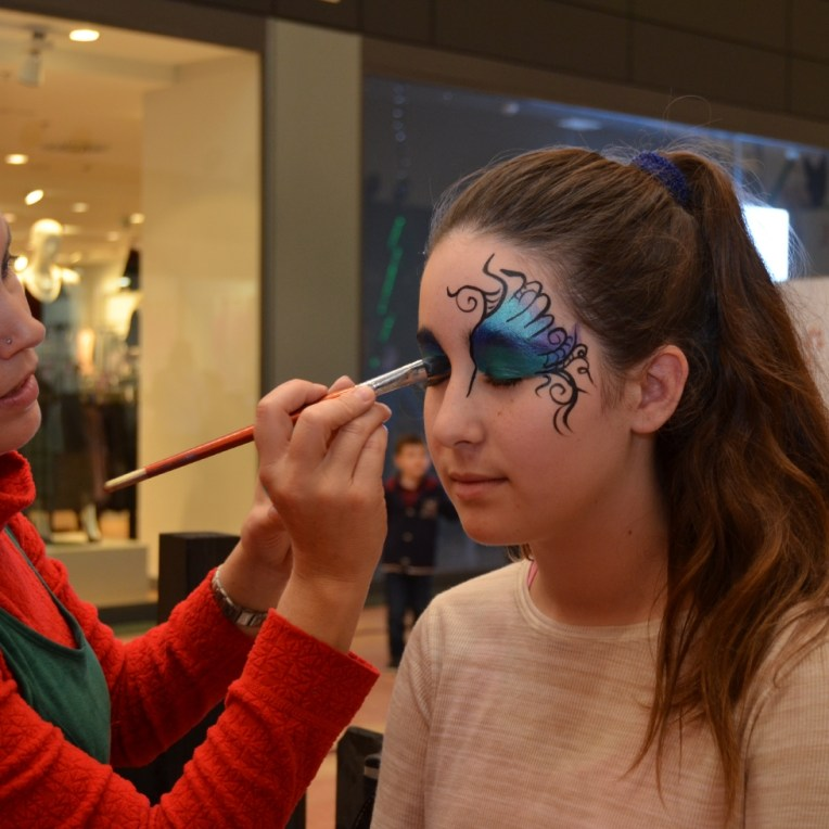 maquillaje de fantasía para fiestas