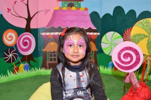 Photocall casita de chocolate fiesta infantil