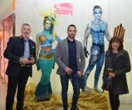 Gala entrega Premios Excellence de Cruceros. Body paint