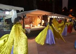 Pasacalles en mercado medieval Ronda Sur, Murcia