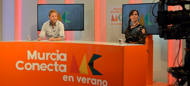Entrevista para 7TV Murcia Conecta