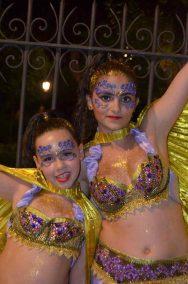 Maquillaje con prótesis fiestas moros y cristianos