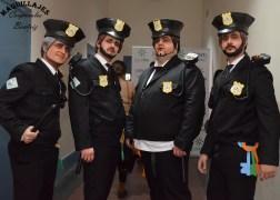 Caricatura Maquillaje y caracterización de Guardias Civiles
