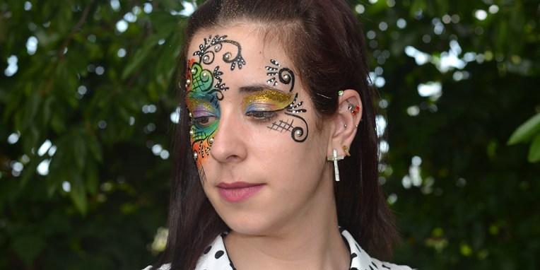 Maquillaje fantasía 2