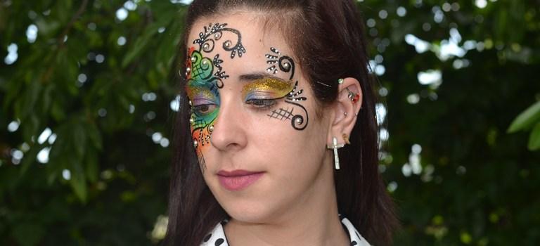 Tutorial maquillaje de fantasía 2