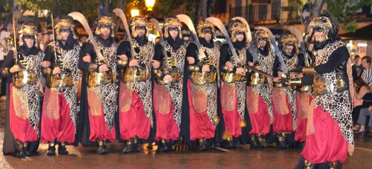 Maquillajes para el desfile de Moros y Cristianos de Murcia