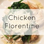 Chicken Florentine – Eat Well with this Healthy Simple Recipe