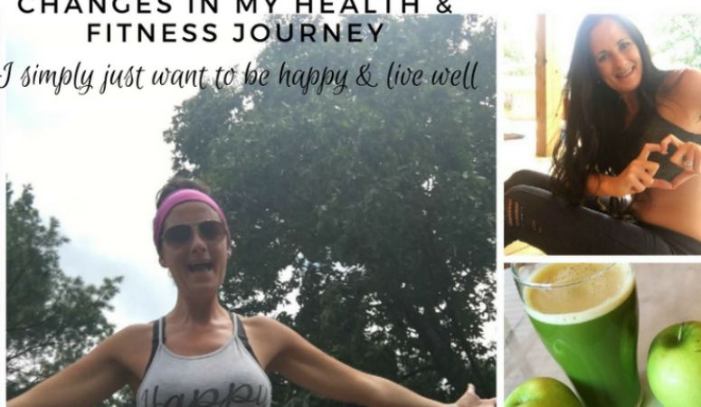changes in health wellness fitness weight loss happy live well