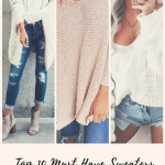 Sweaters everyone needs for their Fall & Winter closet
