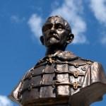 Bustul Maresalului Averescu - realizat de sculptorul Oscar Späthe