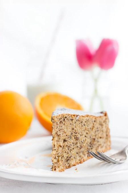 Orangen-Walnuss-Kuchen