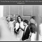 Young Sanjay Dutt going to jail over 1993
