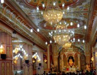 Shreemant Dagdusheth Halwai Ganapati Temple : In Pune this temple is dedicated to the Hindu God Ganesha.  The temple is popular in Maharashtra and is visited by thousands of pilgrims every year. The...