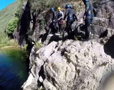 Canyoning Rio Carcerelha