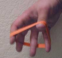 Rubber Band Finger Exercises