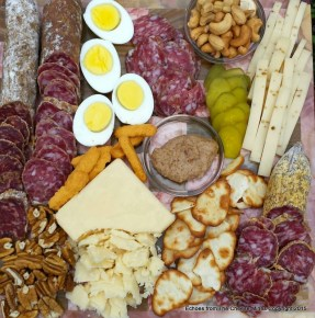 Creminelli Salumis and Cheese Platter