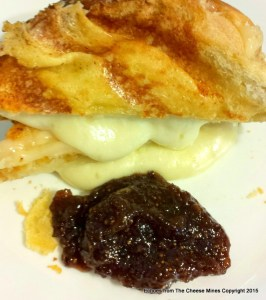 Ooey-gooey Marieke Gouda and Orange Fig Spread