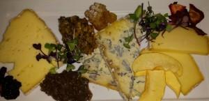 Sweet Grass Dairy Cheese Plate at Savannahs B. Matthews