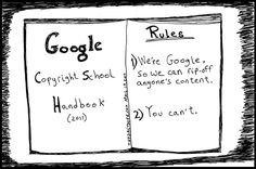 Google e os direitos autorais