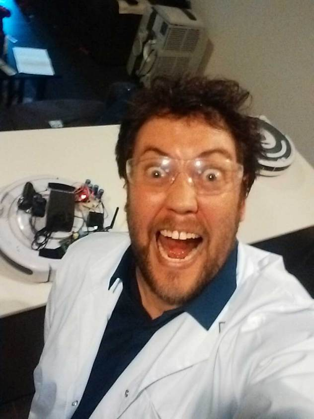 Only Slightly Mad Scientist Selfy