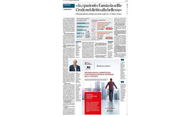 ... e Candida Morvillo ne scrive sul Corriere della Sera