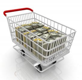 shopping-cart-money