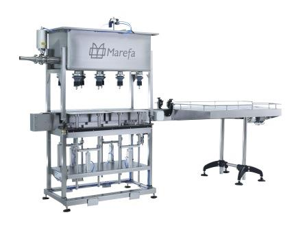 Marefa Semi-Automatic Step Filler, 8 Head Step Filler