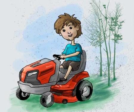 lawnmower500