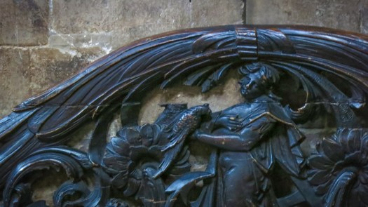 Carving Saint Bartholomew, London