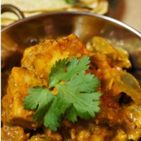 Kadai Paneer - Paneer, Bell Pepper, and Onion cooked in a Kadai